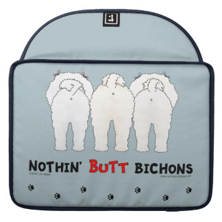 Nothin' Butt Bichons Sleeve For MacBook Pro