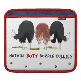 Nothin' Butt Border Collies iPad Sleeves