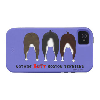 Nothin' Butt Boston Terriers iPhone 4/4S Case