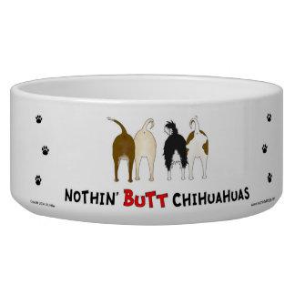 Nothin' Butt Chihuahuas Pet Food Bowls