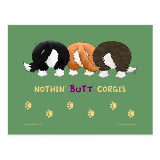 Nothin' Butt Corgis PostCards