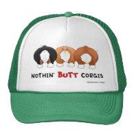 Nothin' Butt Corgis Trucker Hats