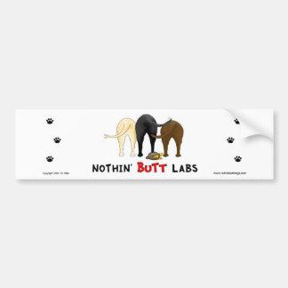 Nothin' Butt Labs Bumper Sticker