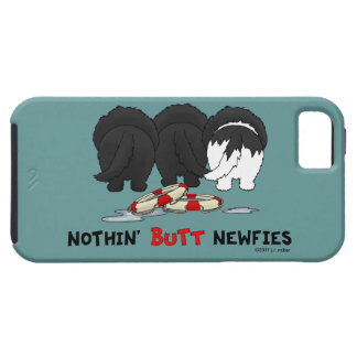 Nothin' Butt Newfies iPhone 5 Covers