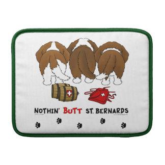Nothin' Butt St. Bernards Sleeve For MacBook Air