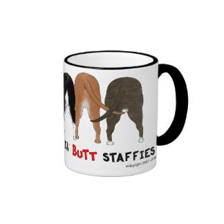 Nothin' Butt Staffies Coffee Mugs