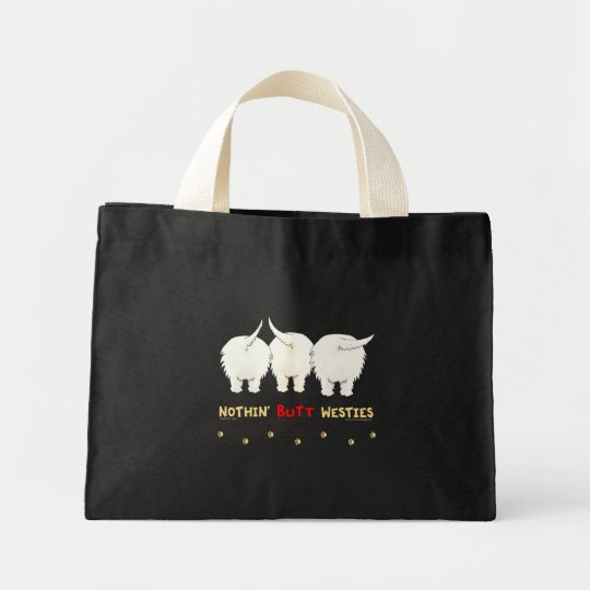 Nothin' Butt Westies Mini Tote Bag