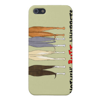 Nothin' Butt Whippets iPhone 4 Case