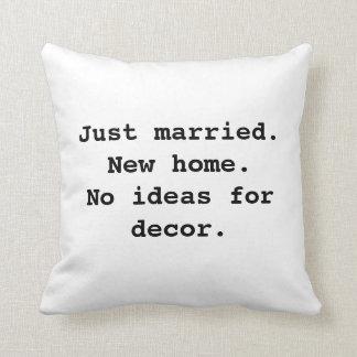 Nothin' fancy pillows