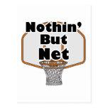 nothin pero aro de baloncesto neto