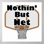 nothin pero aro de baloncesto neto impresiones