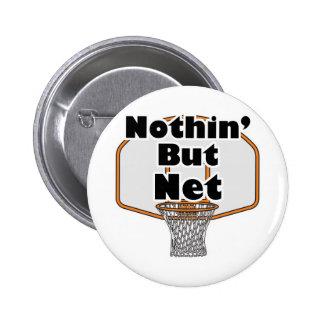 nothin pero aro de baloncesto neto pin redondo 5 cm