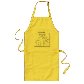 Nothin' starts the day out like Cow Vomit Long Apron