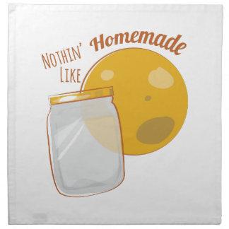 Nothin tiene gusto hecho en casa servilletas