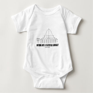 Nothing But A Statistical Anomaly (Stats Humor) Baby Bodysuit