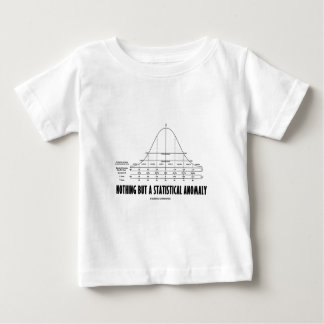 Nothing But A Statistical Anomaly (Stats Humor) Baby T-Shirt