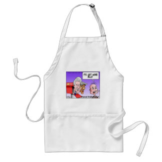 """""""Nothing But Bills"""" Funny Cartoon Gifts & Tees Adult Apron"""