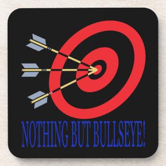 Nothing But Bullseye Drink Coaster