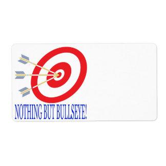 Nothing But Bullseye Label