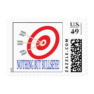 Nothing But Bullseye Postage Stamp