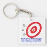 Nothing But Bullseye Square Acrylic Key Chains