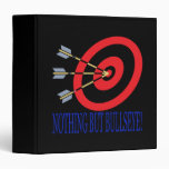 Nothing But Bullseye Vinyl Binder