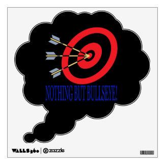 Nothing But Bullseye Wall Sticker