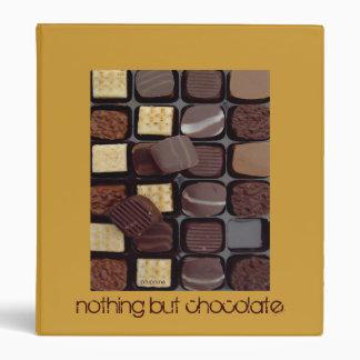 nothing but chocolate vinyl binders