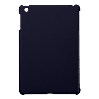 Nothing But Color - Everything Black - Blue Black Cover For The iPad Mini