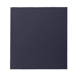 Nothing But Color - Everything Black - Blue Black Memo Notepads
