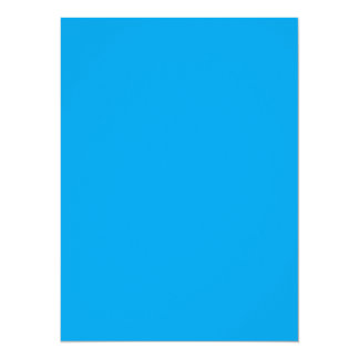 Nothing But Color Only Sky Blue 5.5x7.5 Paper Invitation Card