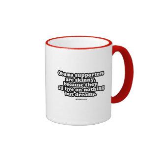 nothing but dreams ringer coffee mug