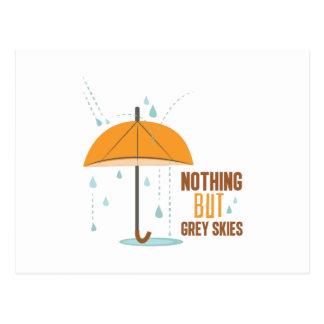 Nothing But Grey Skies Postcard