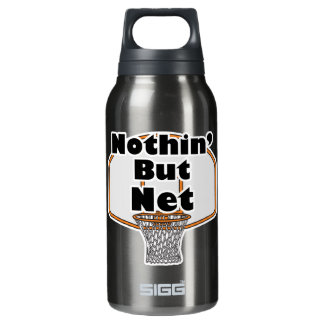 nothing but net basketball design 10 oz insulated SIGG thermos water bottle