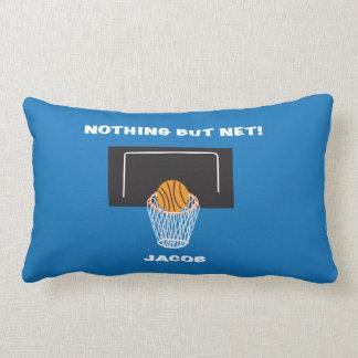 "'Nothing But Net"" Basketball Pillow"