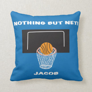 """nothing But Net"" Basketball Pillow"