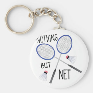 Nothing But Net Keychain