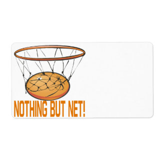 Nothing But Net Custom Shipping Labels