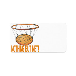 Nothing But Net Label