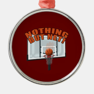 Nothing but Net Metal Ornament