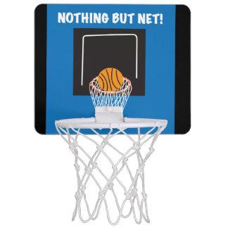 """Nothing But Net"" Mini Basketball Goal Mini Basketball Hoop"