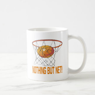 Nothing But Net Classic White Coffee Mug