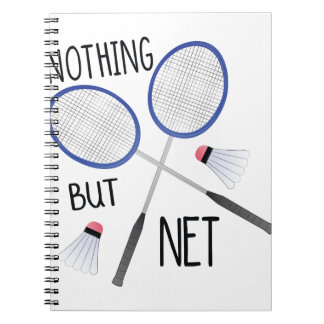 Nothing But Net Spiral Notebook