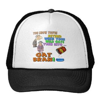 Nothing But Oat Bran Mesh Hats