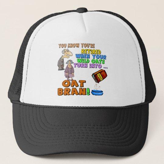 Nothing But Oat Bran Trucker Hat