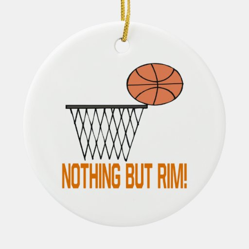 Nothing But Rim Christmas Tree Ornaments