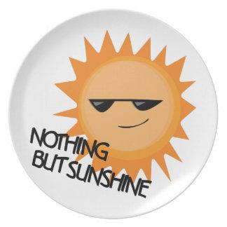 Nothing But Sunshine Dinner Plate