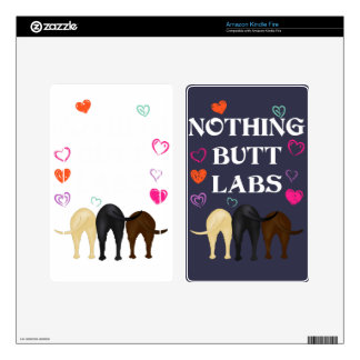 Nothing Butt Labs! Skin For Kindle Fire