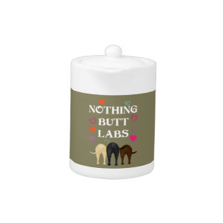Nothing Butt Labs! Teapot