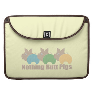 Nothing Butt Pig MacBook Pro Sleeve